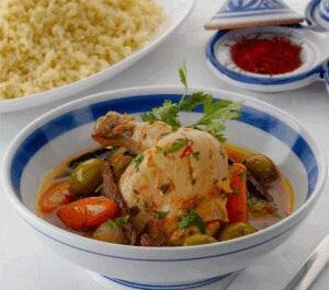 طاجن الدجاج على الطريقة المغربيّة