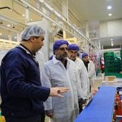 زيارة رئيس مؤسسة زراعة محافظة طهران