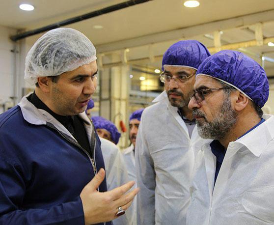 بازدید رئیس سازمان جهاد کشاورزی استان تهران